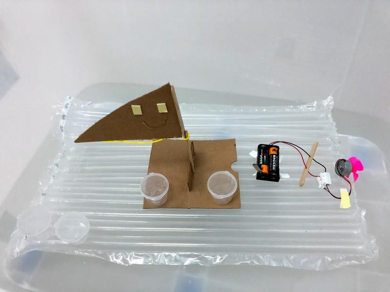 自製氣墊船