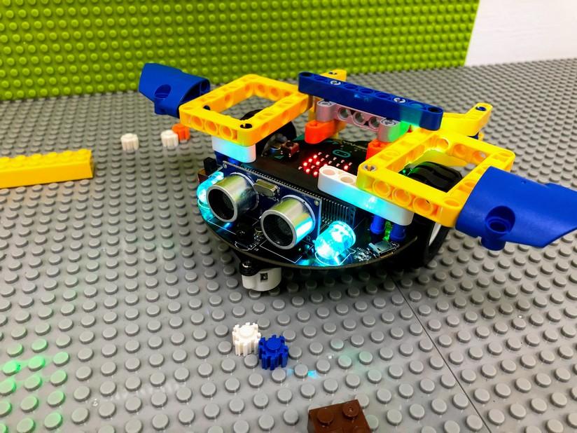 micro:bit積木機器人